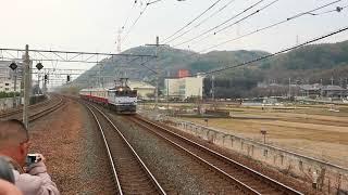 京急新1000形17次車(1613F)甲種輸送 島本駅通過