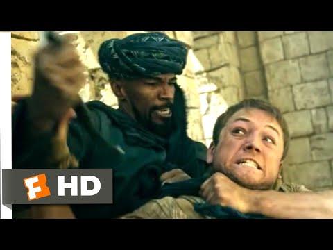 Robin Hood (2018) - Robin vs. Little John Scene (1/10) | Movieclips