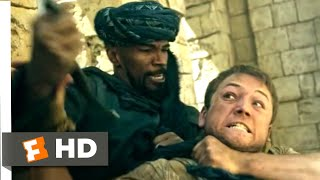 Robin Hood (2018) - Robin vs. Little John Scene (1/10) | Movieclips