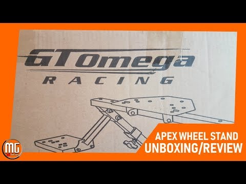 GT Omega Racing Apex Wheel Stand Unboxing And Review 2019