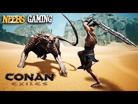 Conan Exiles: DEVIL DOG!