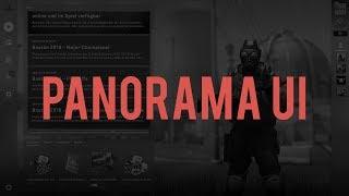 THE NEW PANORAMA UI IN CSGO