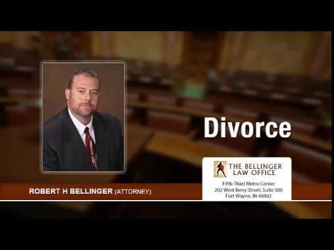 Fort Wayne, Indiana Divorce Attorney, Robert Bellinger. | 260-428-2214