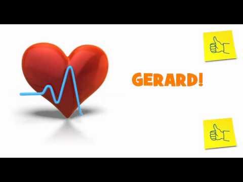 Joyeux Anniversaire Gerard Youtube