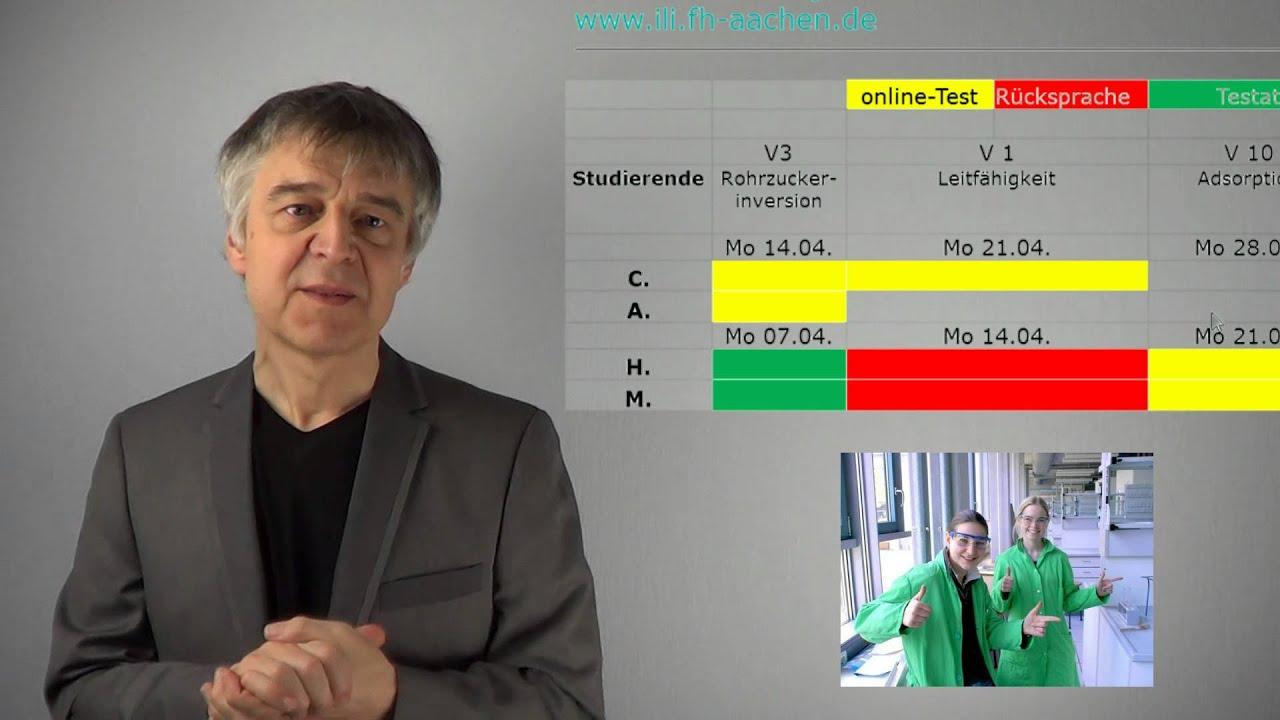 Physikalische Chemie Praktikum