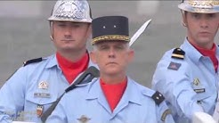 French Bastille Day Parade 2015 Full Army and Air Force Segment
