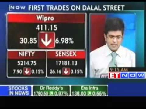 Market opens flat -  Wipro, TCS, Petronet down