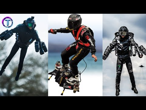 5 Amazing Jetpack and Flyboard Invention That are At Another Level!