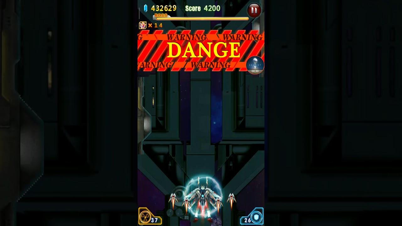 Thunder Strike Fighter - Raytheon Fighter - Boss Level 10 - Soul Eater