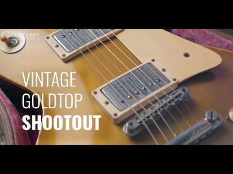 GOLDTOP SHOOTOUT: 1952 & 1958 Gibson Les Pauls (P90s vs PAFs)