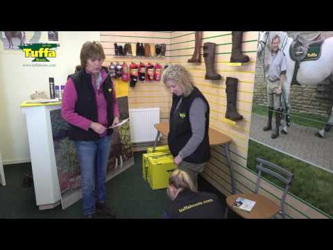 How To Measure For Bespoke Tuffa Boots