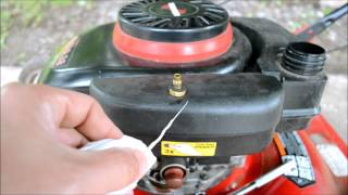 Lawn Mower Won't Start.  How to fix it in minutes, for free. thumbnail