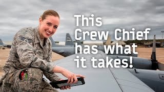 C-130 Crew Chief: SrA Franke