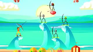 Surfer Archers Game Walkthrough