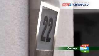 Idealna do zastosowań na zewnątrz budynków - taśma montażowa tesa Powerbond® Outdoor