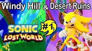 ABM: Sonic Lost World (playthrough # 1) SUPER SONIC!! HD