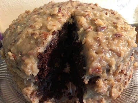 German Chocolate Cake Recipe | Southern Sassy Mama