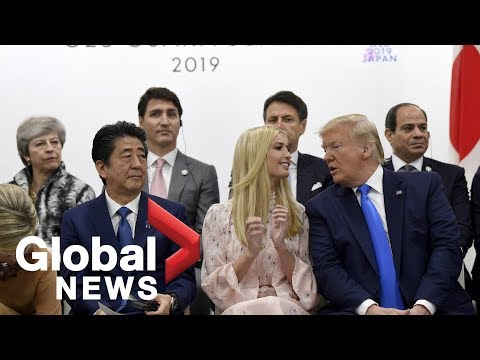 G20 women's empowerment event with Ivanka Trump, Shinzo Abe and world leaders