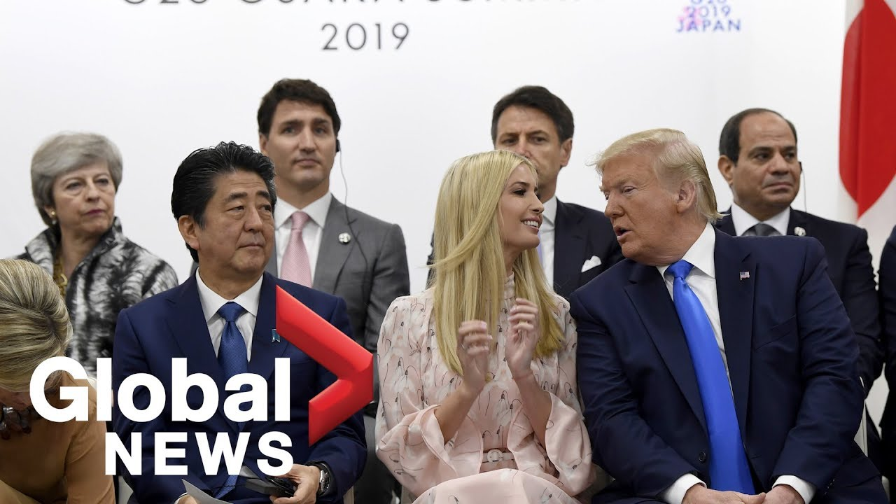 G20 women's empowerment event with Ivanka Trump, Shinzo Abe and world leaders