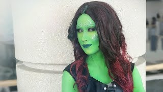 Gamora Makeup Tutorial ✨Guardians of the Galaxy]