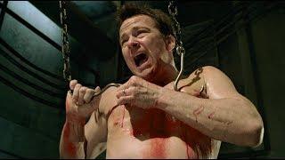 Бобби протыкает грудь крюками. Хоффман против Джил | Пила 7 (2010)