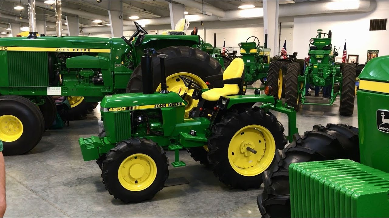john deere 4250 mini tractor by anderson mini youtube. Black Bedroom Furniture Sets. Home Design Ideas