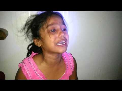 Little girl acting audition, one take