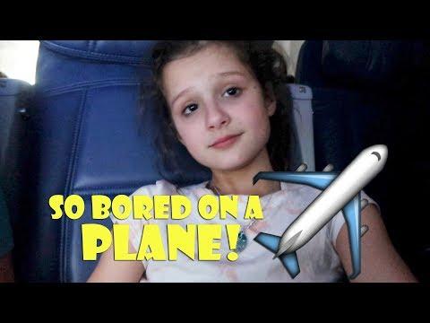 So Bored On A Plane ✈ (WK 367.4) | Bratayley