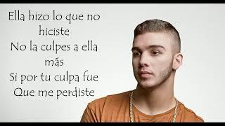 Manuel Turizo - Culpables Letra