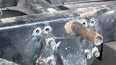 КАМАЗ 45143-012-13 гидроцилиндр подъема кузова ( www.bga.kz) - YouTube