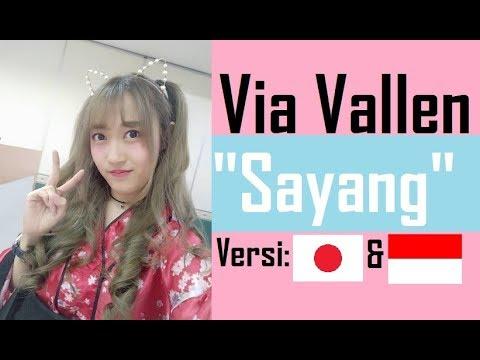 Via Vallen - Sayang [versi Jepang & Jawa] By Angelyn