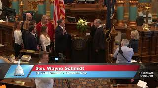 Sen. Schmidt sworn in as Michigan senator