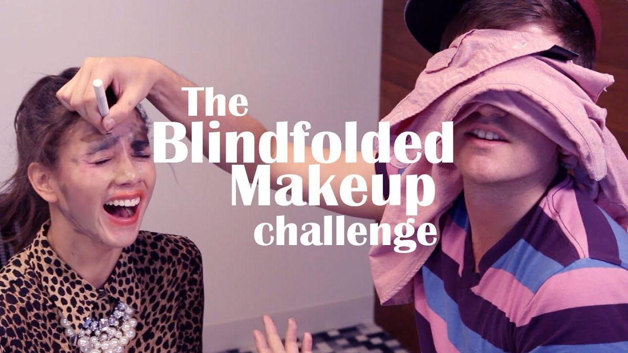 The Blindfolded Makeup Challenge with Will from Shep689 ...