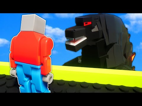 GODZILLA LEGO TOWER SURVIVAL! - Brick Rigs Gameplay!