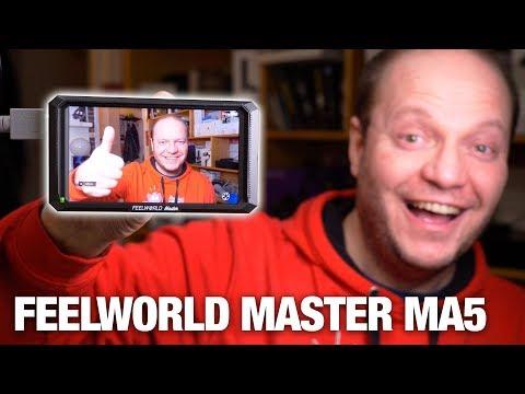 Feelworld Master MA5 : moniteur 5