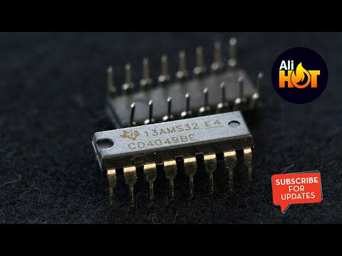 Unboxing: CD4049BE (Buffered) CD4049 CMOS HEX Buffer
