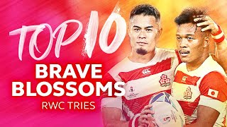 🌸 The Brilliant Brave Blossoms | Top 10 Japan Tries at RWC
