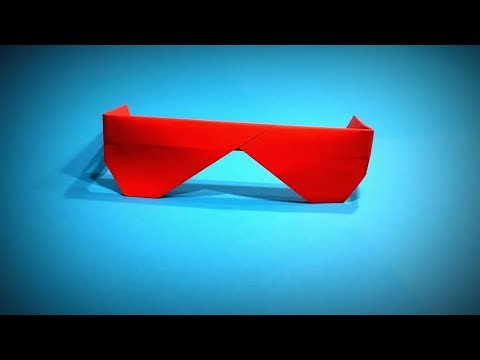 How to Make a Paper Glasses DIY | Stylish trendy paper glasses - Easy Origami Step by Step