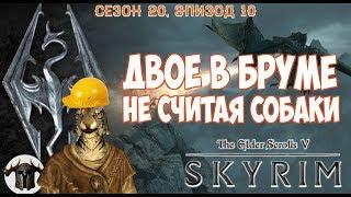 ДВОЕ В БРУМЕ, НЕ СТЕСНЯЯСЬ СОБАКИ [#skyrim season 20 episode 10]