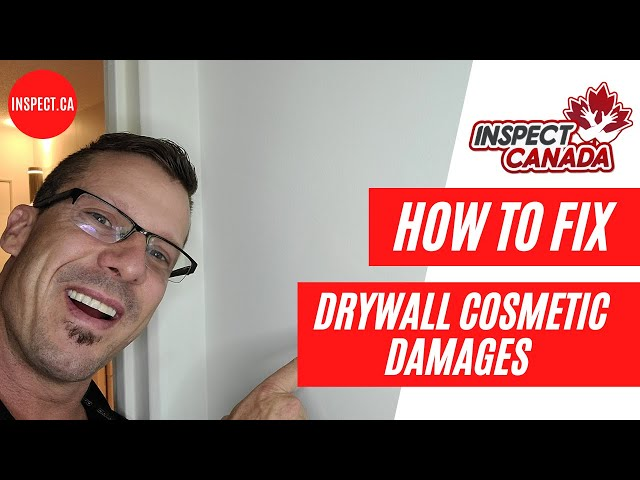 How to Fix Drywall Cosmetic Damages