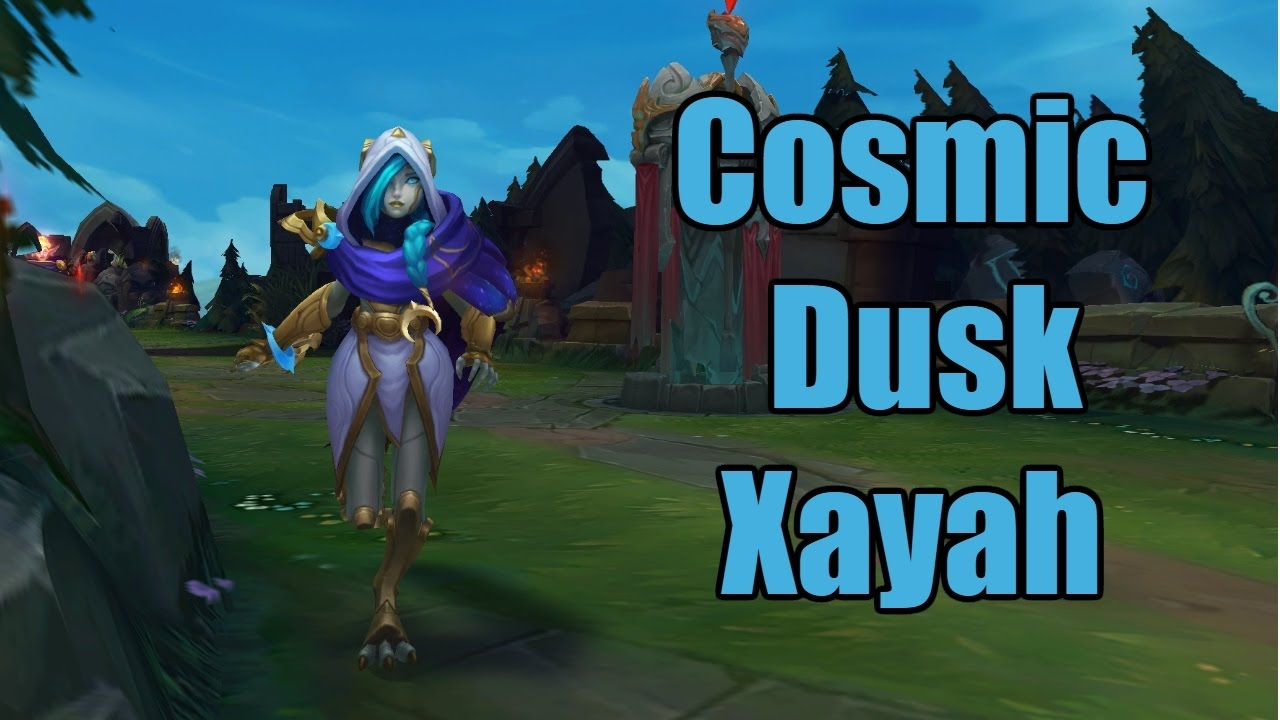 Cosmic Dusk Xayah ADC Gameplay