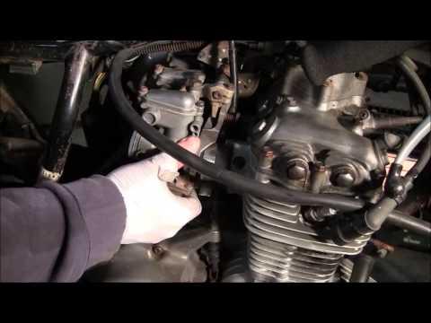 cafe racer build project part 5 : 1973 honda cb350f / cb350 : removing the  4 carburetors