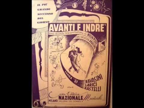 Nilla Pizzi e Luciano Benevene - Avanti e indrè (con testo)