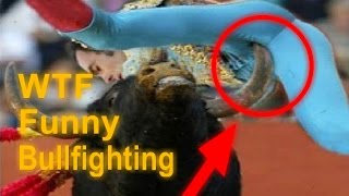 Most awesome bullfighting - Bullfighting funny videos 2016 - Bull attack people (WTF GIF's)  #4