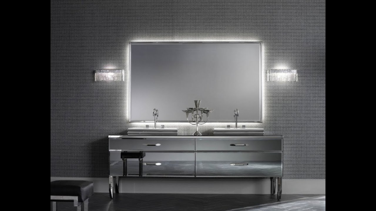 Brushed Nickel Bathroom Mirror. Brushed Nickel Bathroom Mirror  YouTube