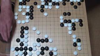 柯潔九段(白) 申旻埈六段(黒) 中国甲級リーグ MR囲碁1414