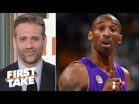 Kawhi is better than Kobe under pressure - Max Kellerman | First Take