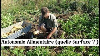 Autonomie Alimentaire (quelle surface ?)