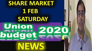 Union Budget 2020 | Indian Stock Market | Share market news