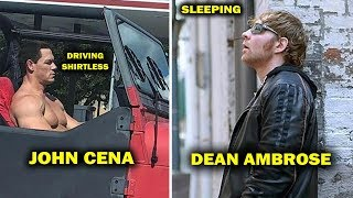 10 Shocking Things WWE Wrestlers Do in Public - John Cena, Dean Ambrose & more